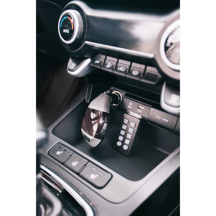 FM - трансмиттер, MP3/WMA/Bluetooth/USB/AUX/MicroSD, FH-25