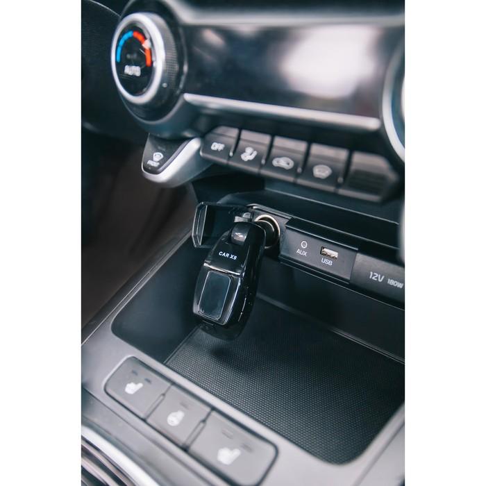 FM - трансмиттер, MP3/WMA/Bluetooth/USB/AUX/MicroSD, черный, FH-29