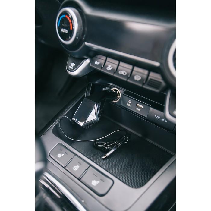 FM - трансмиттер, MP3/WMA/Bluetooth/USB/MicroSD, черный, FH-31