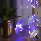"НИТЬ ""Лампочки"" 1,5 м, 4 х12 см, 100 LED-12V, адаптер в комплекте, МУЛЬТИ"