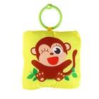 Мягкая игрушка-подвеска «Обезьянка» с погремушкой