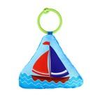 Мягкая игрушка-подвеска «Кораблик» с погремушкой