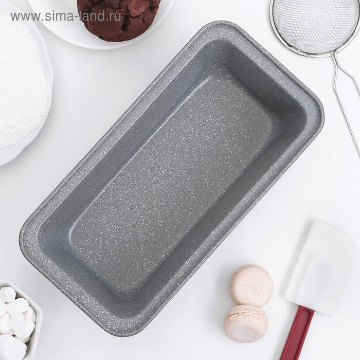 "Baking with a/C coating ""Marble.Bread"" 27,5х14х7 cm"