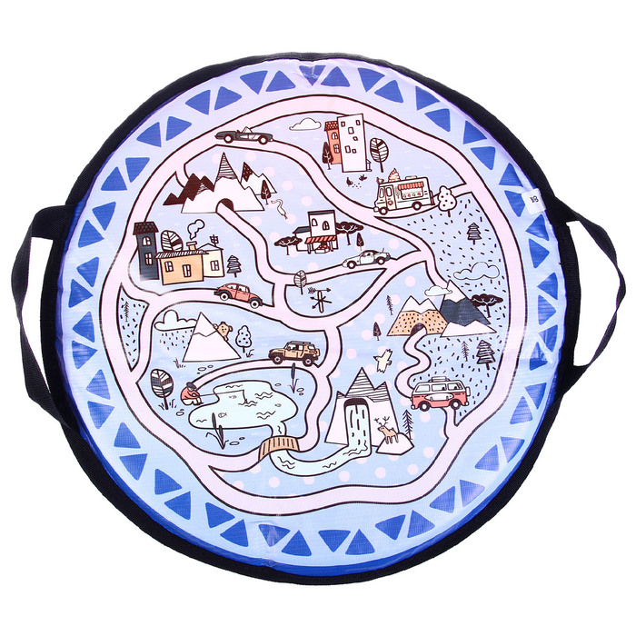 Санки-ледянки «Карта», d=45 см