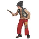 """Карнавальный костюм """"Разбойник с мушкетом"""" текстиль, рост 134-140 см  5043-L"""