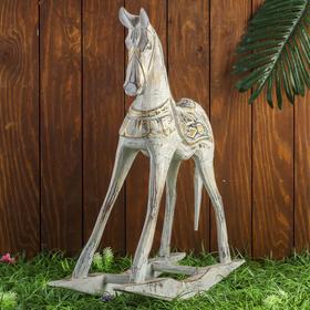 """Сувенир дерево """"Лошадка-качалка"""" 45х12х45 см"""