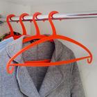 The hanger 41×22×0.7 cm, color coral