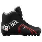 Ботинки лыжные TREK Level 2 NNN ИК, цвет чёрный, лого красный, размер 36