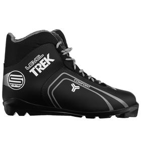 Ski boots TREK Level 4 SNS IR, black, logo gray, size 36