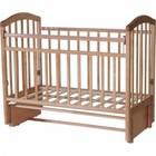 """Кровать детская """"Алита №5"""", маятник продольный, бук"""