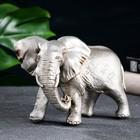 """Фигура """"Слон"""" серебро 18х9х13см"""