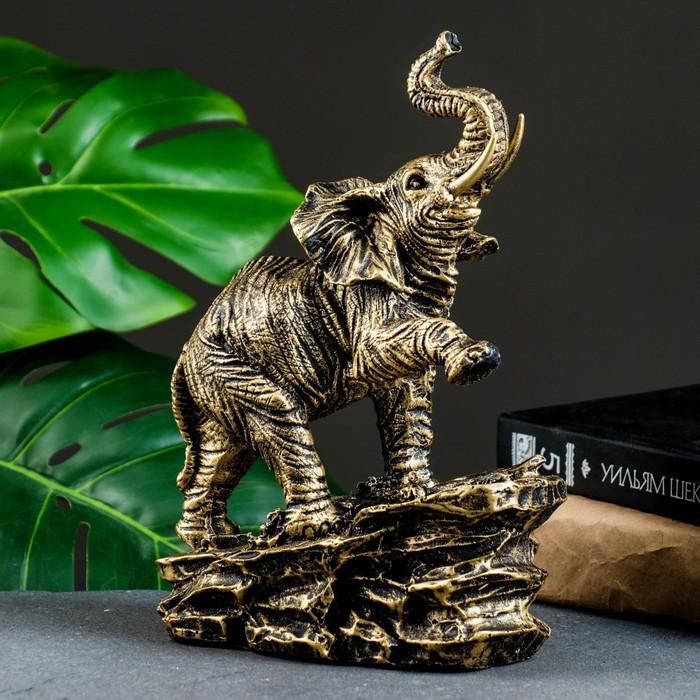 """Фигура """"Слон"""" 16х8х24см - фото 798056539"""