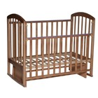 """Кровать детская """"Любаша 2"""" маятник поперечный,  бук"""