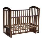 Кровать детская «Любаша 2» маятник поперечный, орех