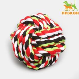 Мячик из каната, 7 см, до 85 г, микс цветов