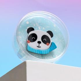 Значок в тубусе «Панда», 5,5 х 5,5 см