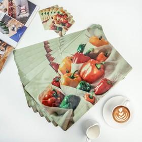 A set of napkins kitchen