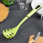 """Ложка для спагетти 33,5 см """"Трава"""", цвет зелёный"""