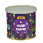 """Магнитный пазл в консервной банке """"Новогодние игрушки"""" (150х200 мм, набор 48 деталей)"""