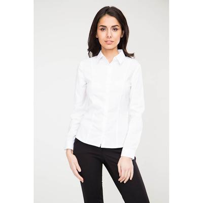 Блузка женская 16217 цвет белый, р-р 42