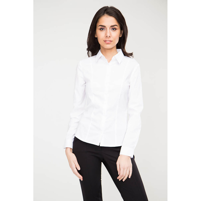 Блузка женская 16217 цвет белый, р-р 50