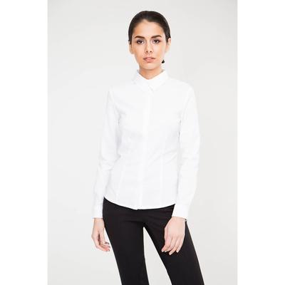 Блузка женская 16218 цвет белый, р-р 40