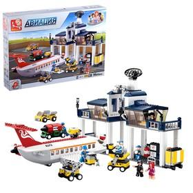 Конструктор «Аэропорт», 826 деталей