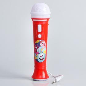 "Микрофон ""Смешарики"" звук, свет"