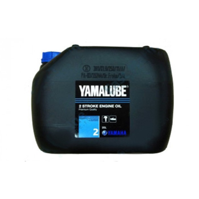 Моторное масло минеральное Yamalube 2 для 2-тактных двигателей ПЛМ, 20 л, 90790BG20300