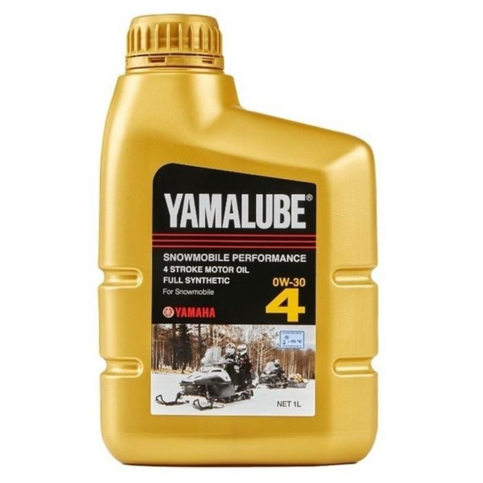Моторное масло для снегоходов Yamalube 0W-30, полусинтетика, 946 мл, LUB00W30SS12