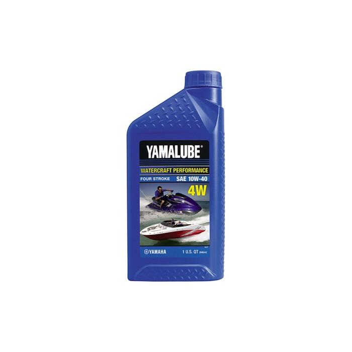 Моторное масло Yamalube 4W 10W-40, минеральное, 946 мл, LUB10W40WV12