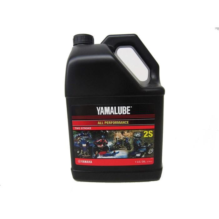 Моторное масло Yamalube 2S, полусинтетическое, 3,78 л, LUB2STRKS104