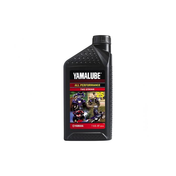 Моторное масло Yamalube 2S полусинтетическое, 946 мл, LUB2STRKS112
