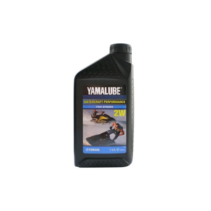 Моторное масло YAMALUBE 2W для 2-тактных гидроциклов, полусинтетика, 946 мл LUB2STRKW112