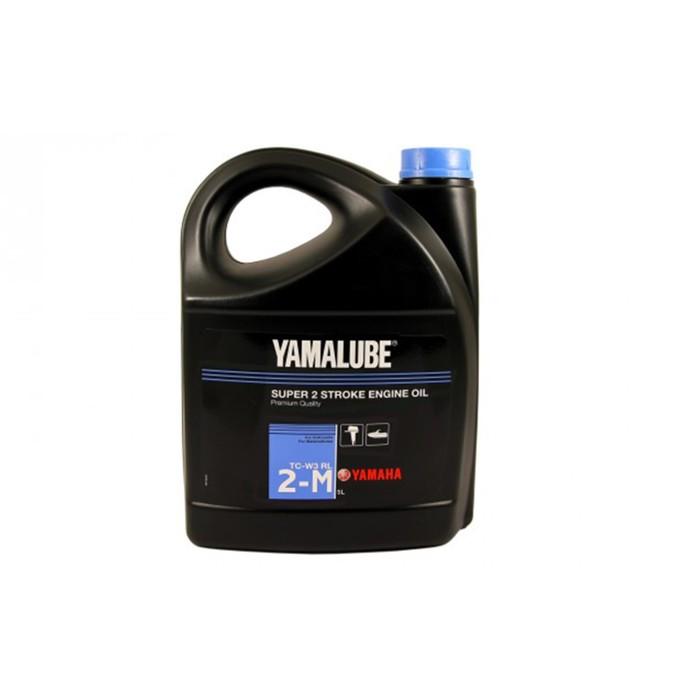 Моторное масло минеральное Yamalube 2-M TC-W3 RL, 5 л, YMD6302105A2