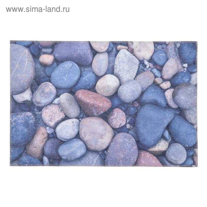 """Ковер для дома 40х60 см """"Камни"""""""