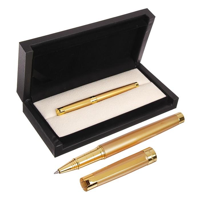 Ручка подарочная, шариковая, в кожзам футляре, «Грант»