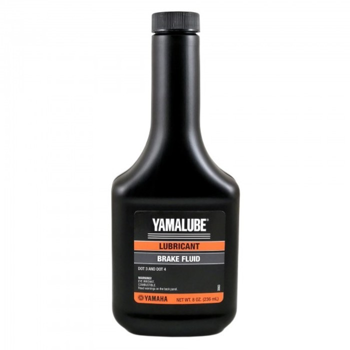 Тормозная жидкость YAMAHA Brake Fluid DOT 4, 236 мл, ACCBRAKEFLUD