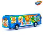 Автобус инерционный «Зооленд» - фото 1020367