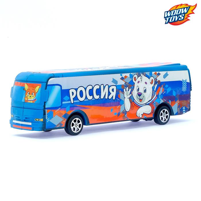 Автобус инерционный «Россия»