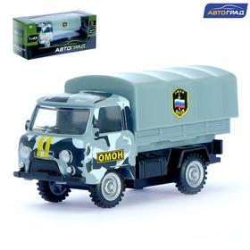 Машина металлическая «Фургон ОМОН», инерционная, масштаб 1:43