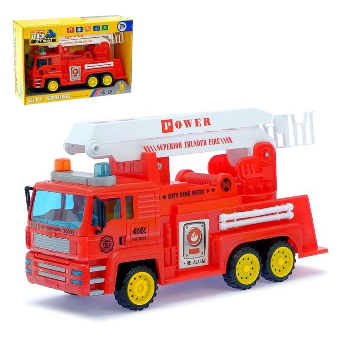 Машина инерционная «Пожарная бригада»