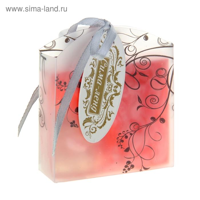 """Мыло сувенирное """"Элеганс"""", цвет розовый"""