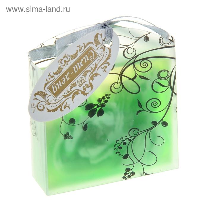 """Мыло сувенирное """"Элеганс"""", цвет зелёный"""