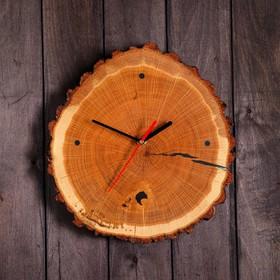"""Часы настенные """"Спил дуба"""", 35 х 35 см"""