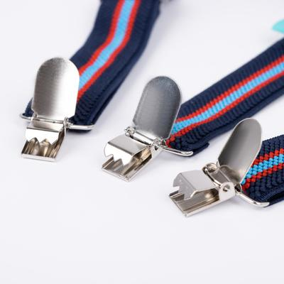 """Suspenders baby """"Bunny"""", color blue/red/blue"""