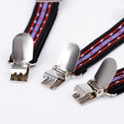 """Suspenders baby """"Bunny"""", color black/red/purple"""