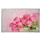 """Наклейка на кафельную плитку """"Букет розовых роз"""" 45х75 см"""