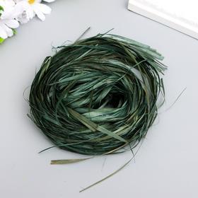 Blumentag bast combed green 30 gr.