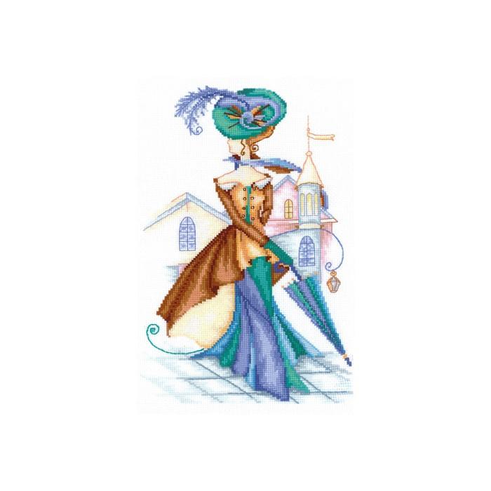 Набор для вышивания «Золотистый кашемир»
